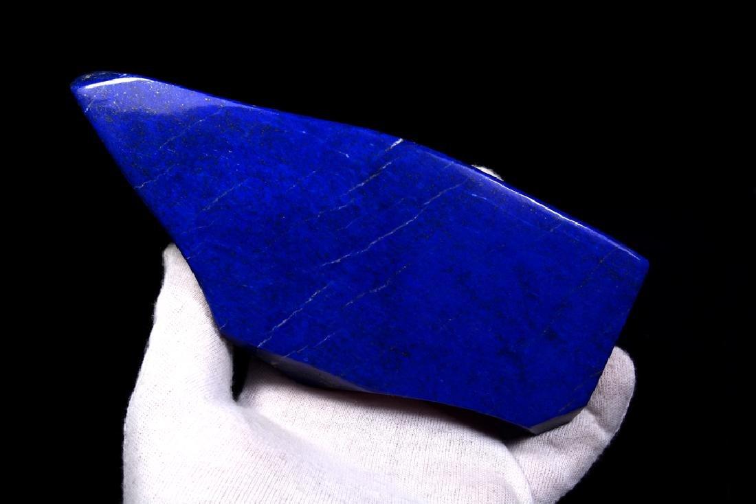 Freeform Royal Blue Lapis Lazuli Tumble