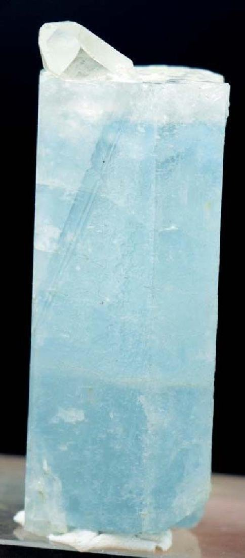 Terminated & Undamaged Natural Aquamarine Crystal with - 2