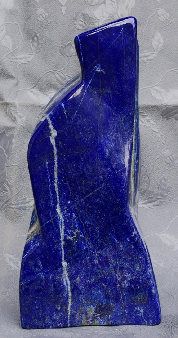 Highly Polished Self Standing Royal Blue Lapis Lazuli - 2