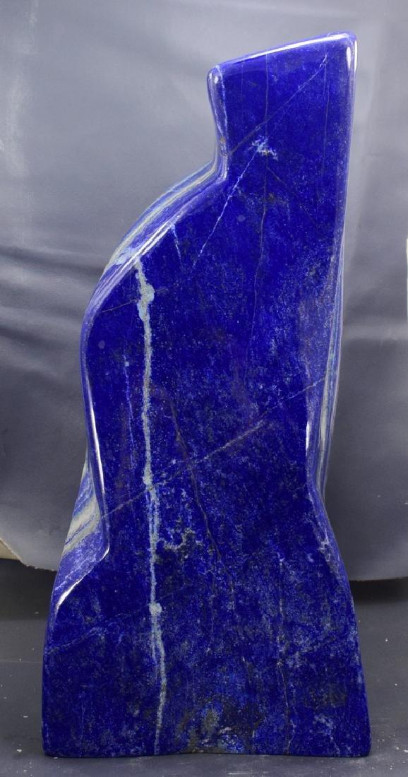 Highly Polished Self Standing Royal Blue Lapis Lazuli - 5