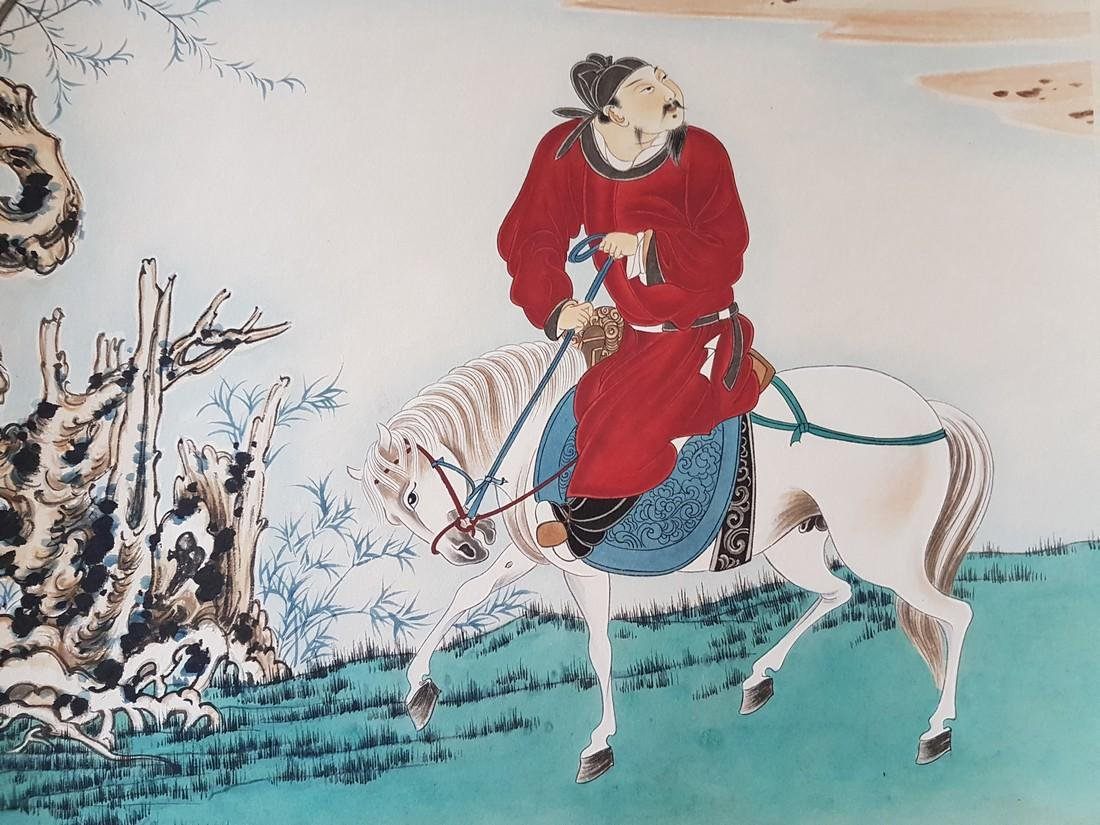 A Chinese scroll Painting on paper ZHANG DAQIAN - 5
