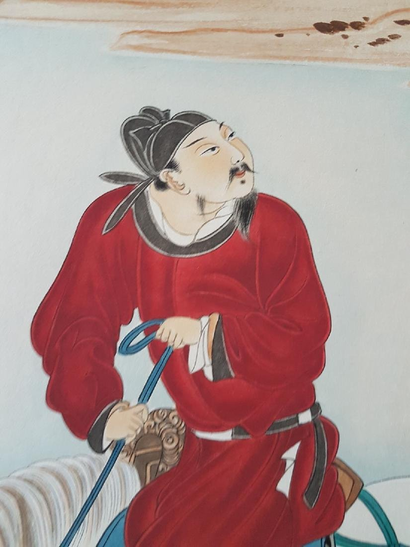 A Chinese scroll Painting on paper ZHANG DAQIAN - 6