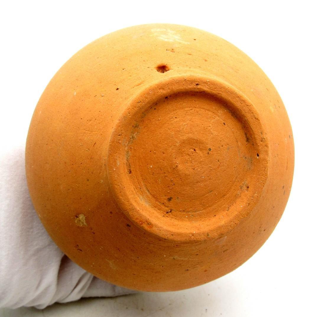 Ancient Roman Legionary Terracotta Wine Flagon Jar - 4