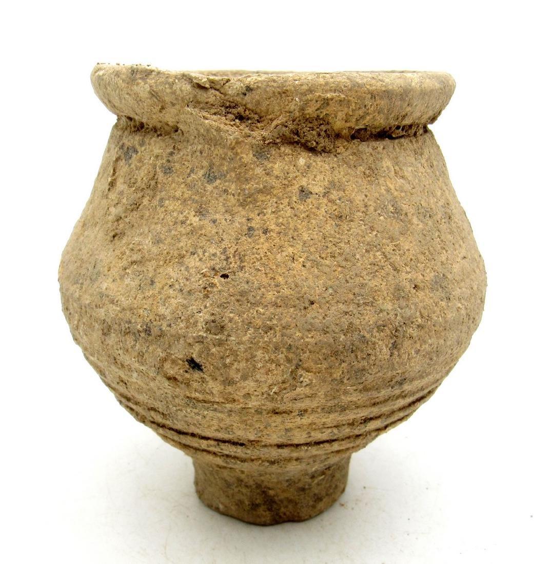 Ancient Roman Legionary Terracotta Wine Cup