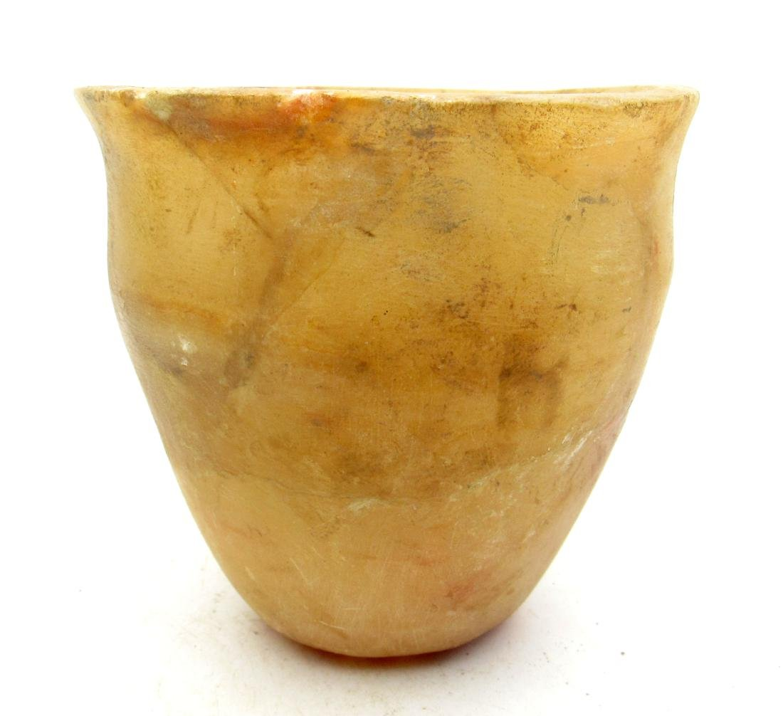 Ancient Egyptian Alabaster Cup