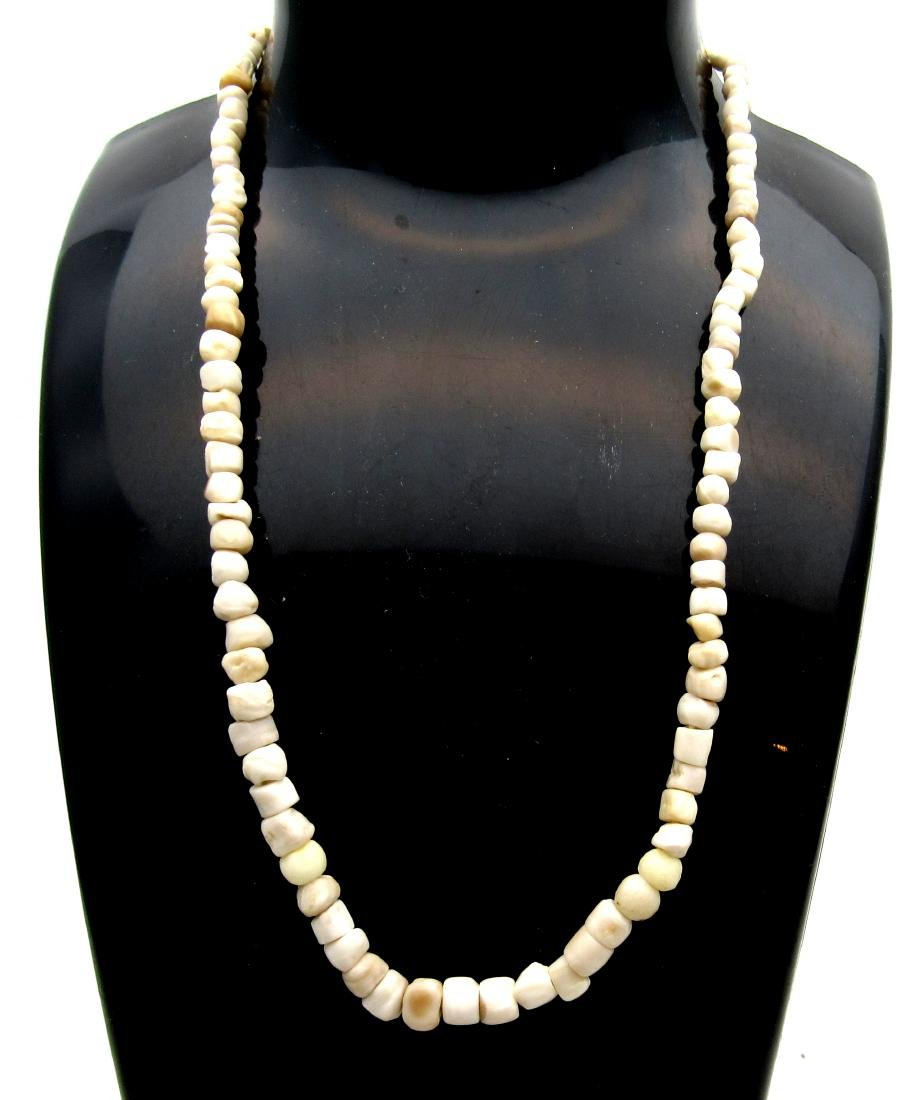 Ancient Indus Valley Stone Beaded Necklace with 100+