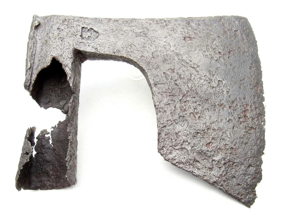 Medieval Viking Era Iron Bearded Battle Axe with Makers