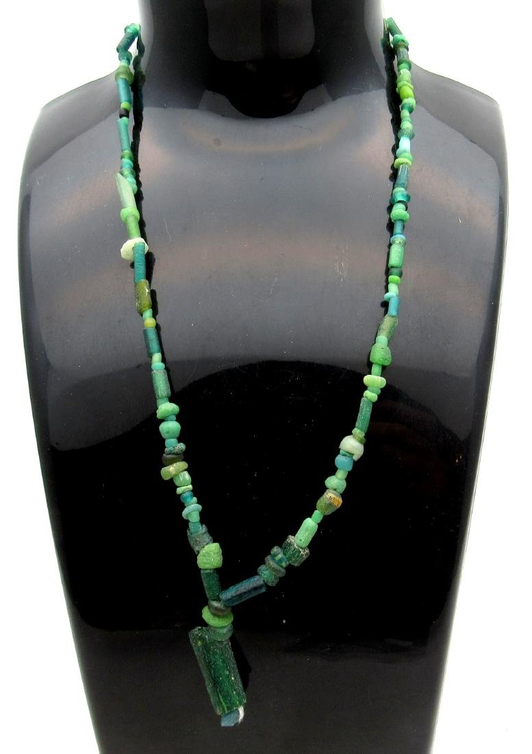 Medieval Viking Era Necklace with 100+ Glass Beads