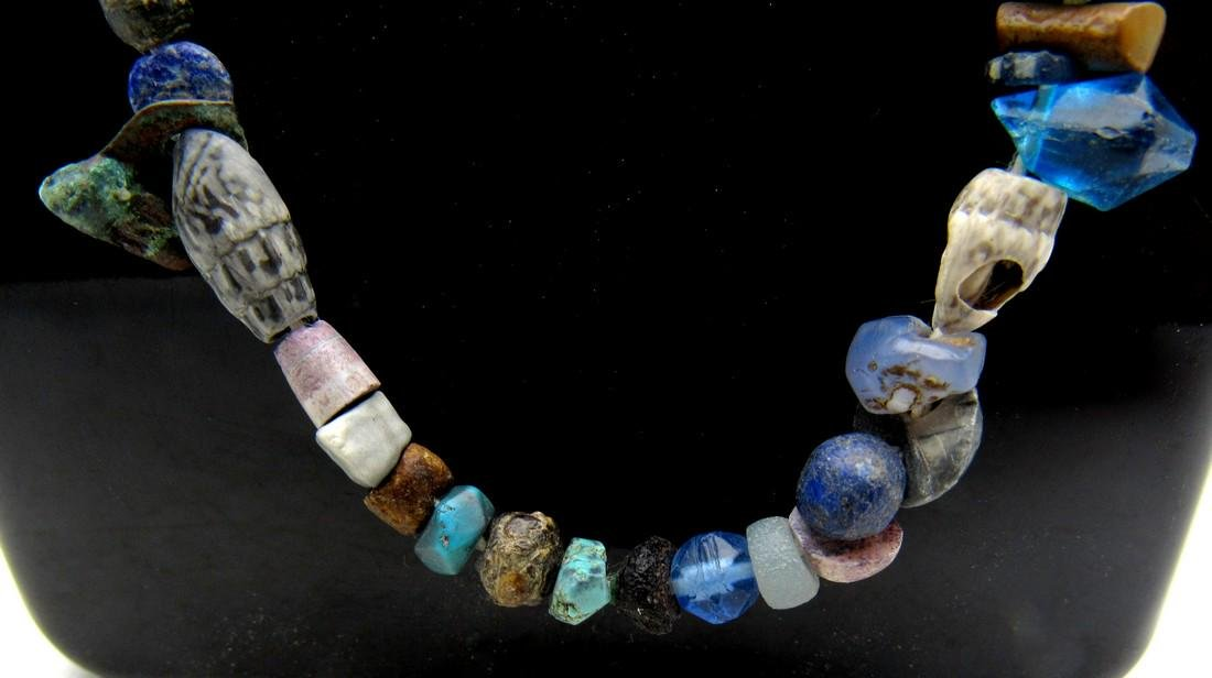 Medieval Viking Era Necklace with 100+ Glass Beads - 2
