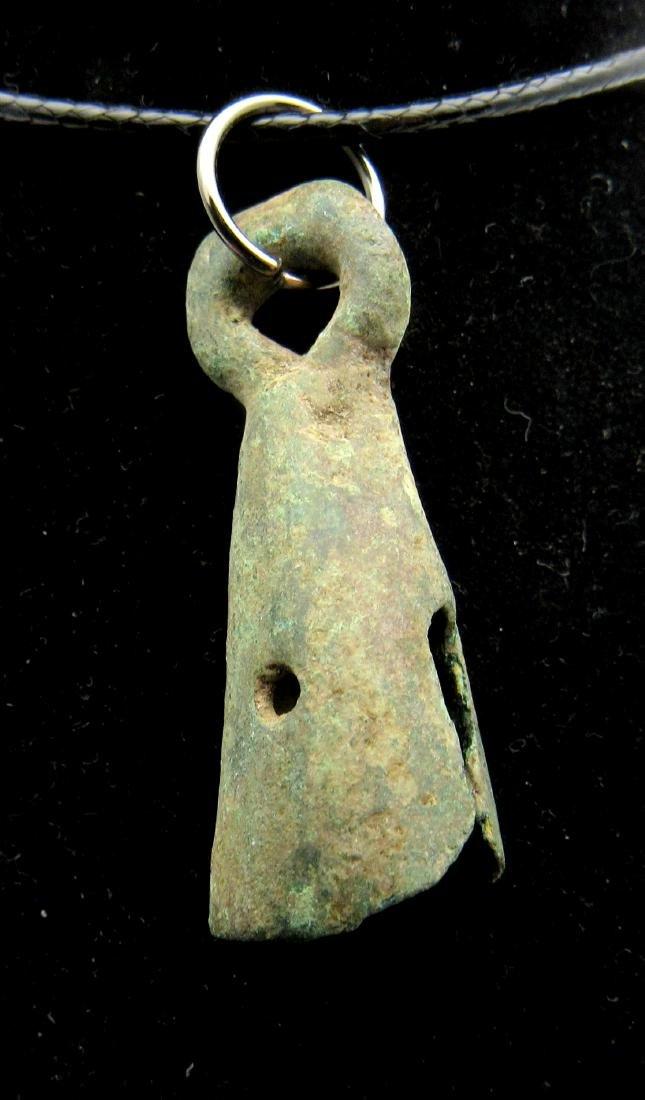 Medieval Viking Era Bronze Bell Pendant