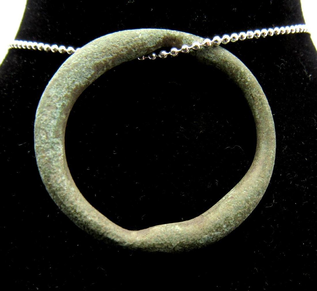 Medieval Viking Era Bronze Sun Amulet