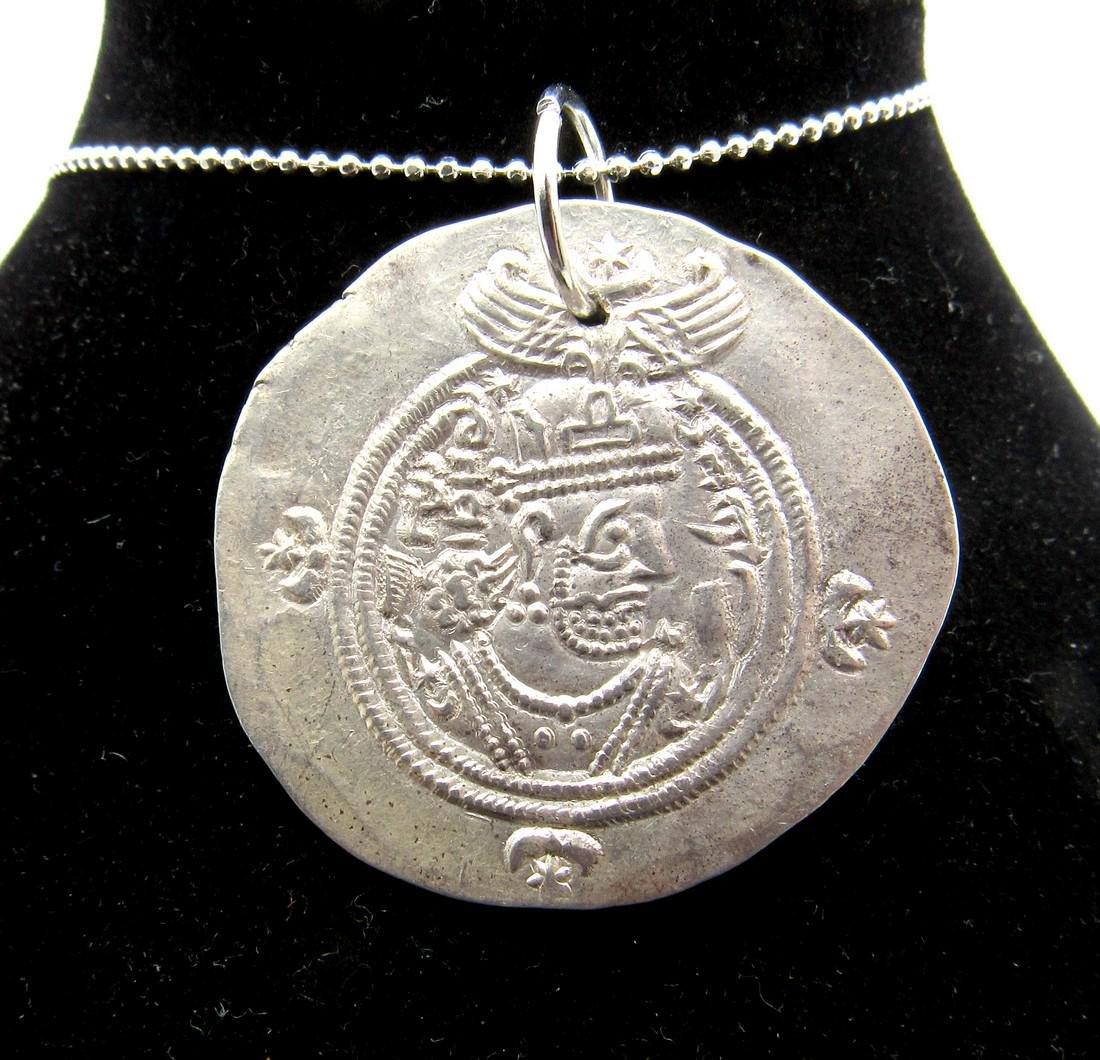 Medieval Viking Era Silver Coin Pendant