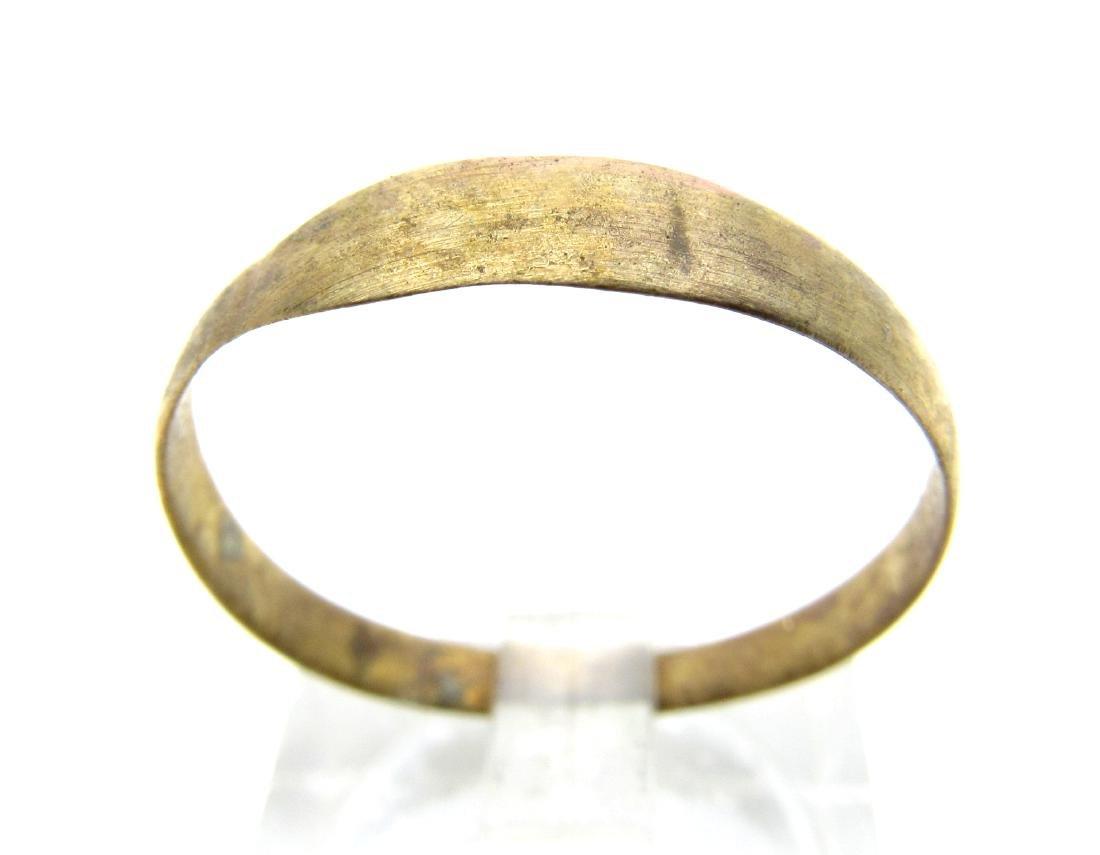 Medieval Viking Era Bronze Wedding Band