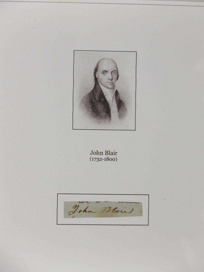 John Blair - Signature