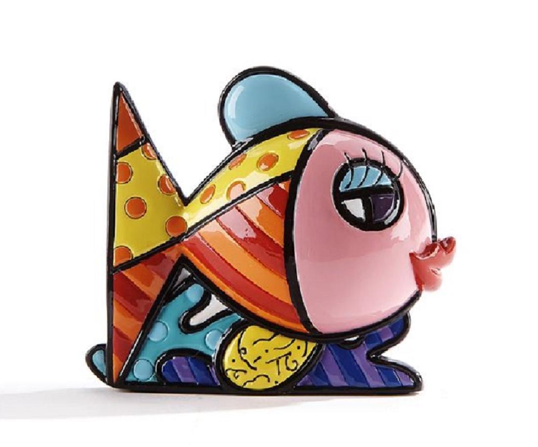 Romero Britto: Little Fish Pop Art statue