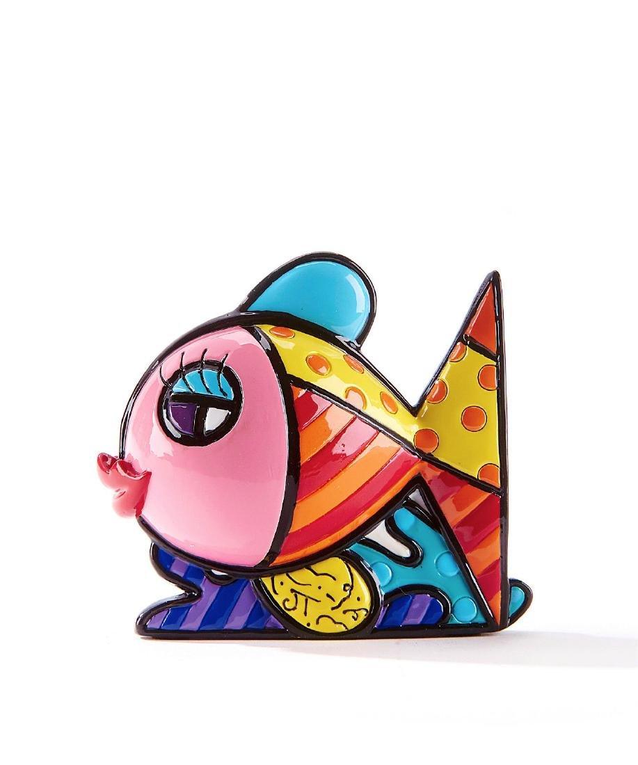 Romero Britto: Little Fish Pop Art statue - 2