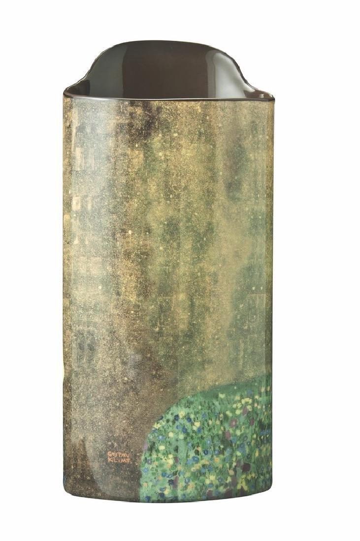 After Gustav Klimt: Vase The Kiss - 2