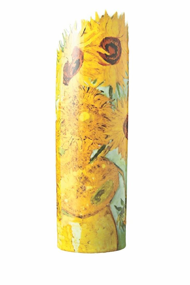 After Van Gogh: Vase Sunflowers