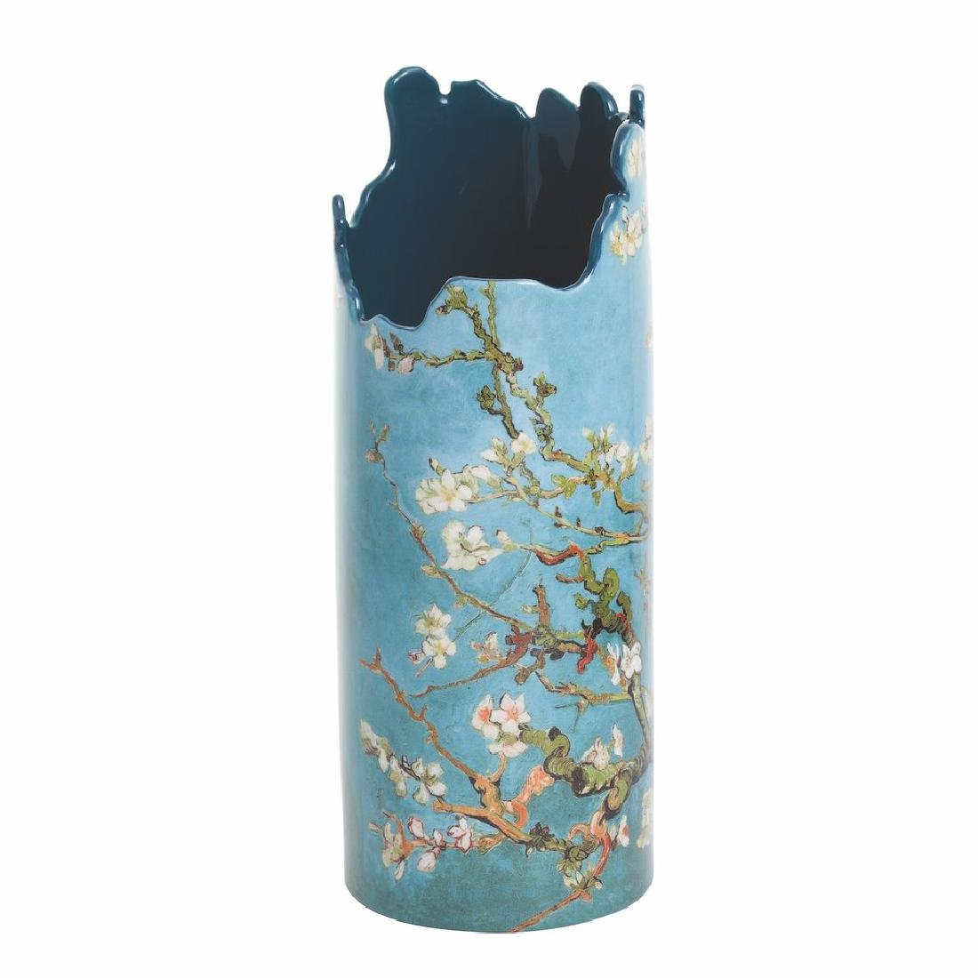 After Van Gogh: Vase Almond Tree in Blossom - 2