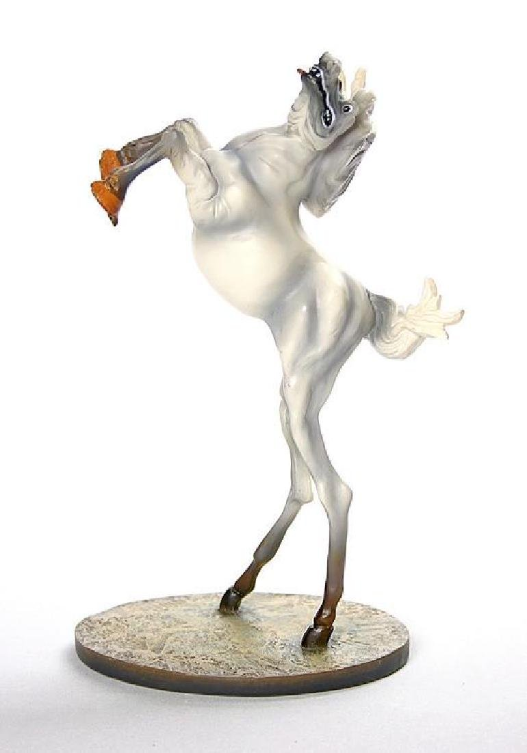 After Salvador Dali: Horse of Saint Anthony statue - 2