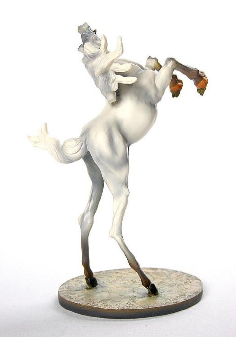 After Salvador Dali: Horse of Saint Anthony statue - 3