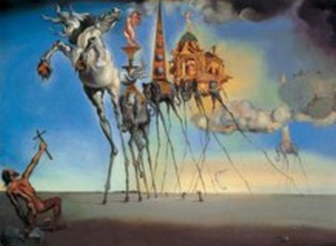After Salvador Dali: Horse of Saint Anthony statue - 4