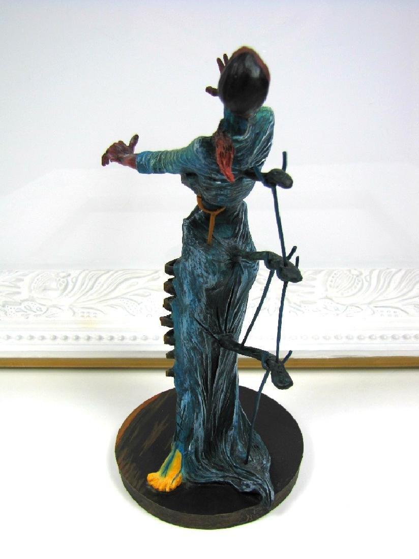 After Salvador Dali: Woman Burning Giraffe statue - 3
