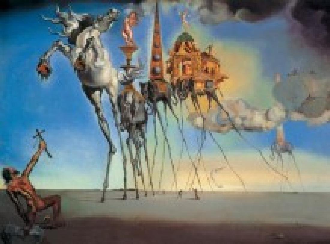 After Salvador Dali: The petition of Saint Antonius - 5
