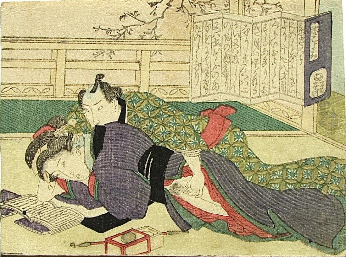 Unidentified Woodblock Shunga