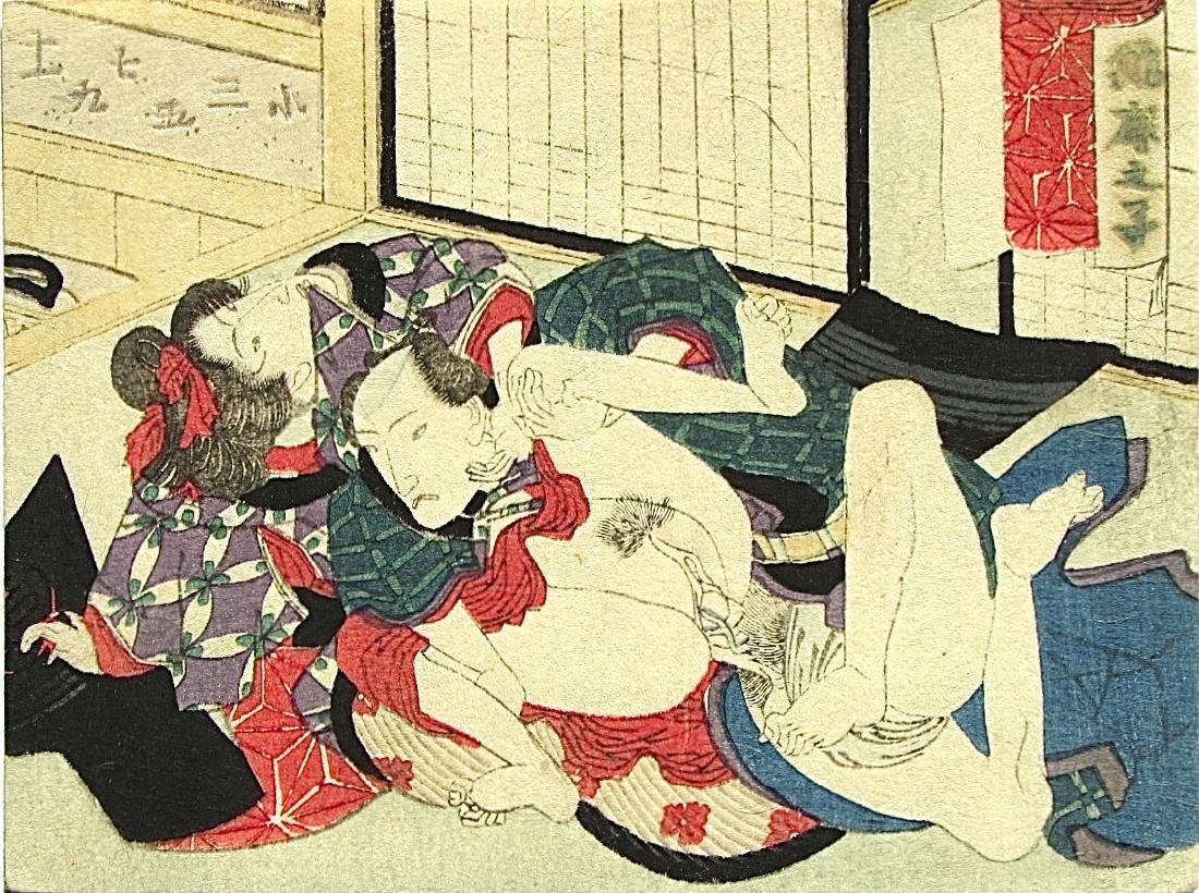 Unidentified Woodblock Shunga