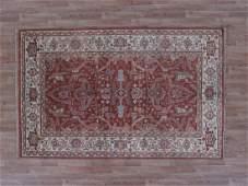 Indo Serapi Rug 5.2x8.2