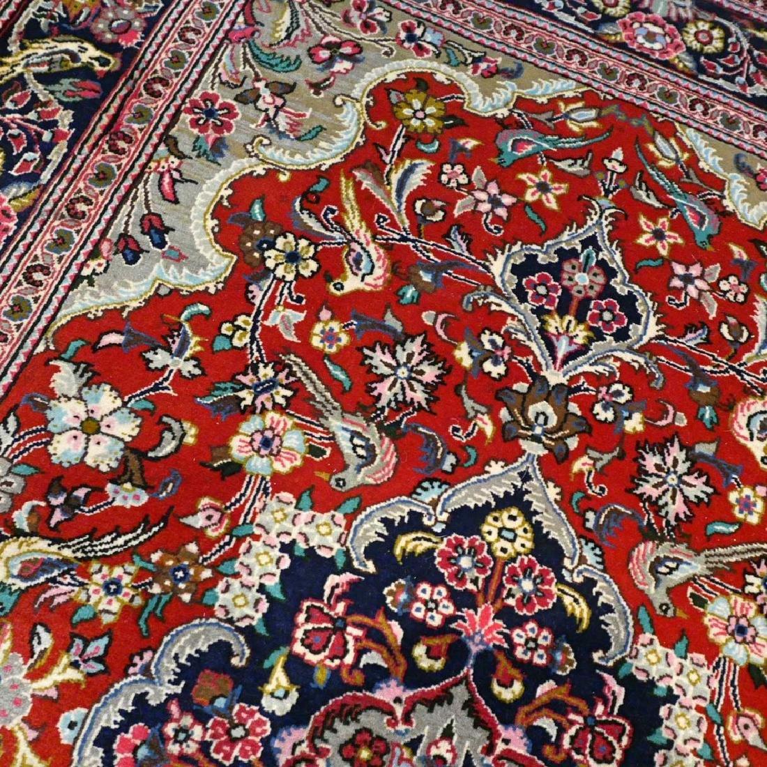 Qum Kork Wool on Cotton Rug 5.4x3.6 - 3