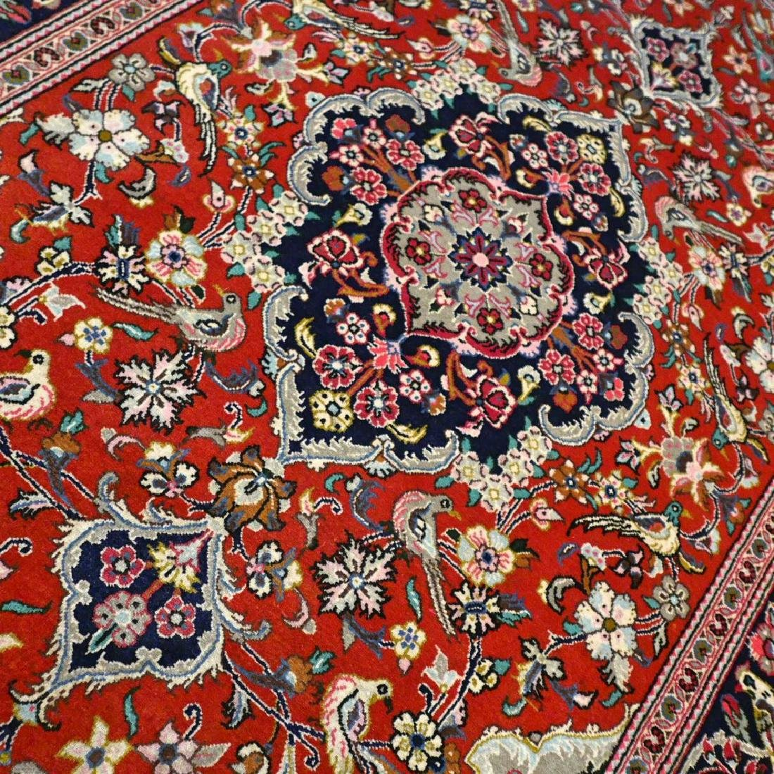 Qum Kork Wool on Cotton Rug 5.4x3.6 - 4
