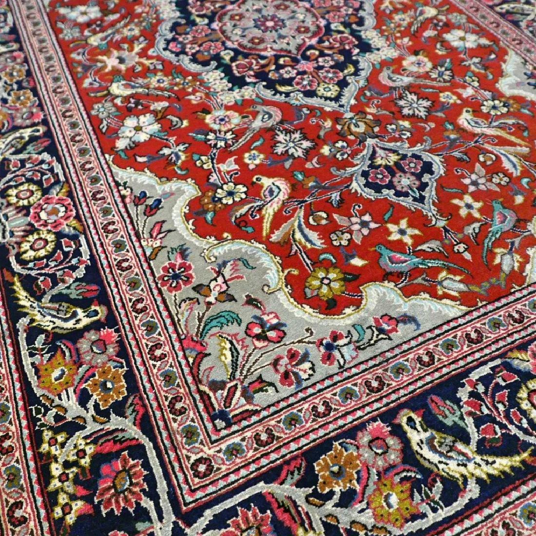 Qum Kork Wool on Cotton Rug 5.4x3.6 - 5