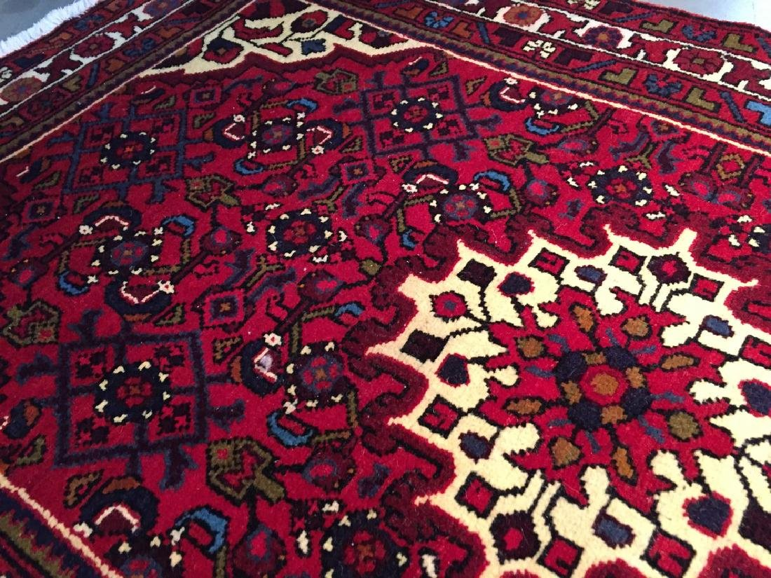 Authentic Hand Knotted Persian Hamadan Rug 3.3x4.6 - 2