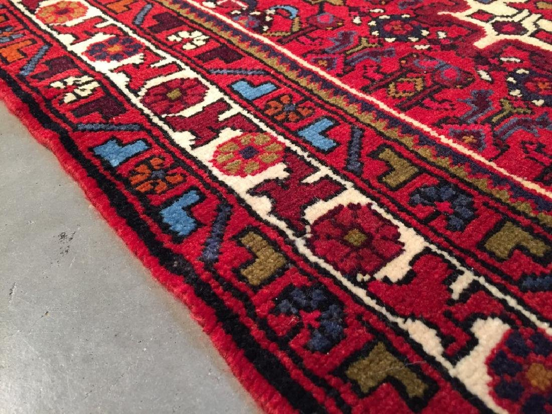 Authentic Hand Knotted Persian Hamadan Rug 3.3x4.6 - 8