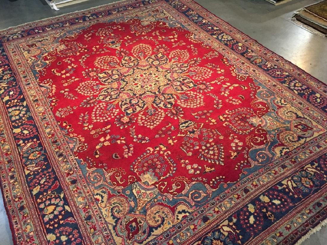 Authentic Persian Kashmar Masterpiece Rug 9.5x13.5 - 10