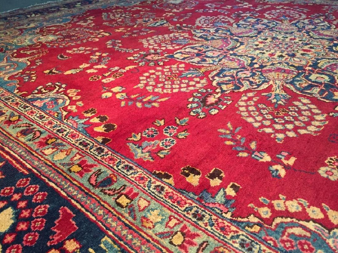 Authentic Persian Kashmar Masterpiece Rug 9.5x13.5 - 3