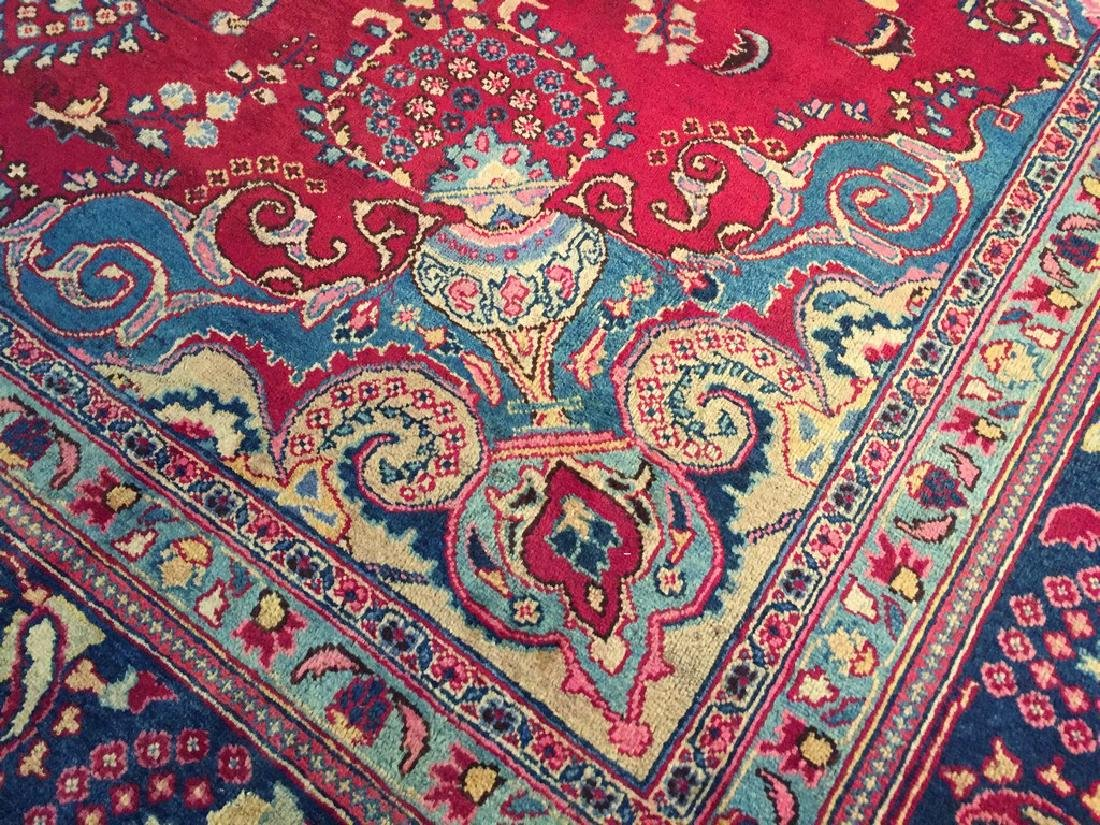 Authentic Persian Kashmar Masterpiece Rug 9.5x13.5 - 6