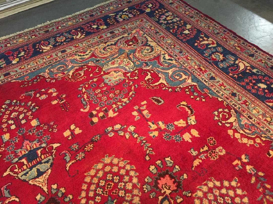Authentic Persian Kashmar Masterpiece Rug 9.5x13.5 - 8