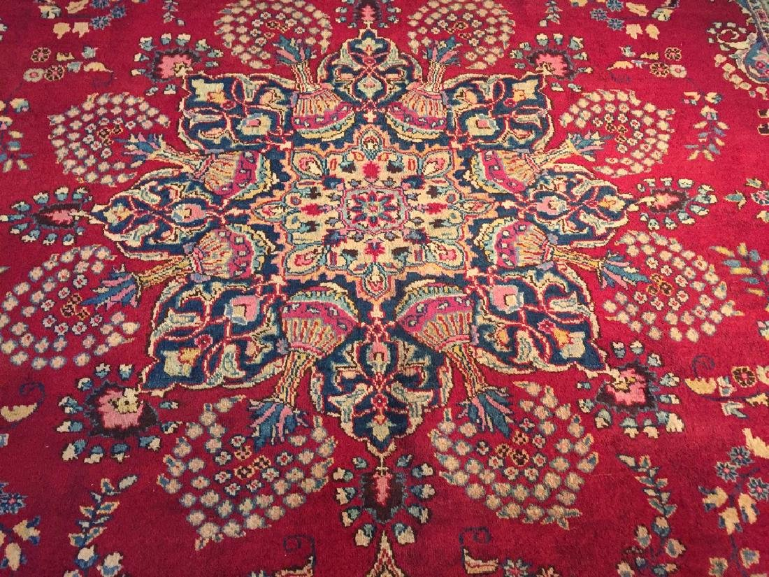 Authentic Persian Kashmar Masterpiece Rug 9.5x13.5 - 9
