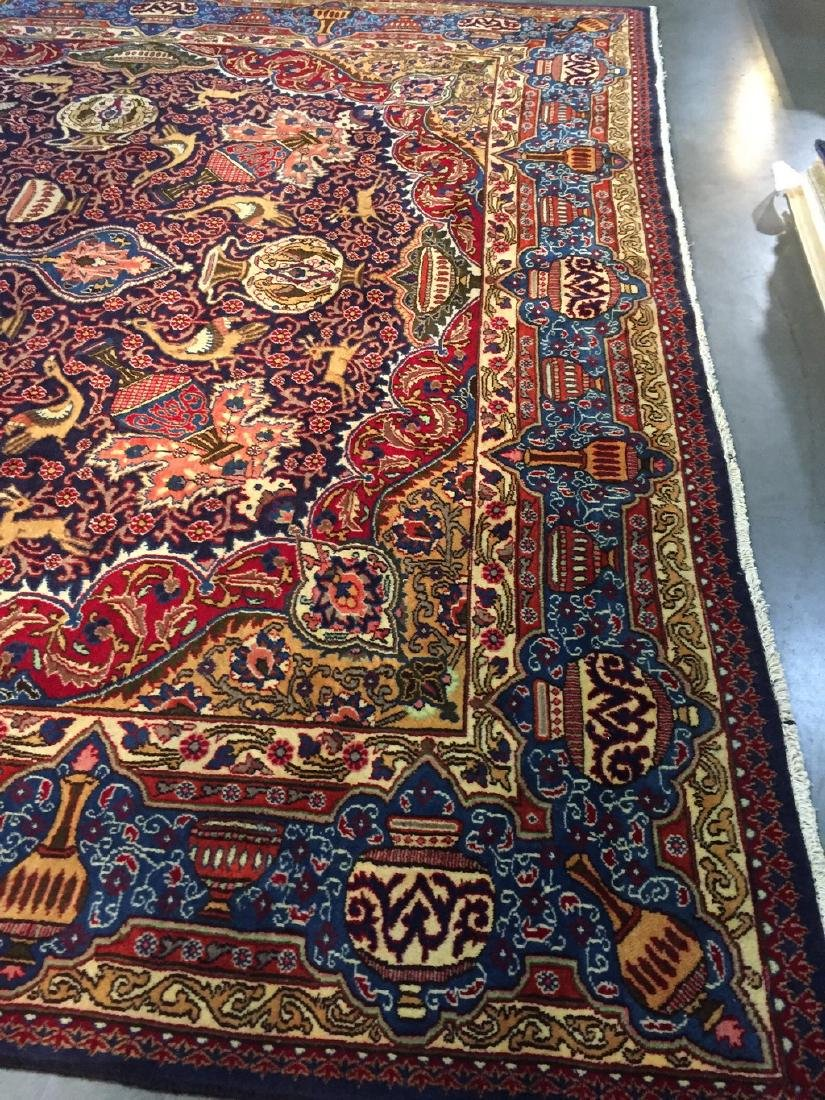 Authentic Persian Kashmar Masterpiece Rug 9.5x12.7 - 5