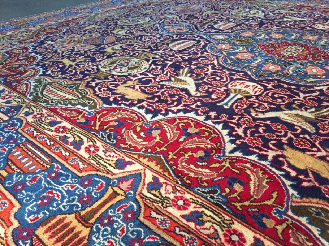 Authentic Persian Kashmar Masterpiece Rug 9.5x12.7 - 6