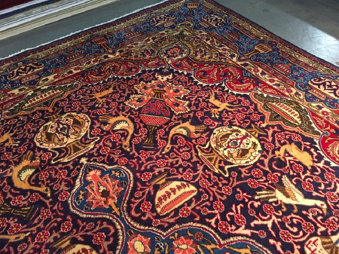 Authentic Persian Kashmar Masterpiece Rug 9.5x12.7 - 8