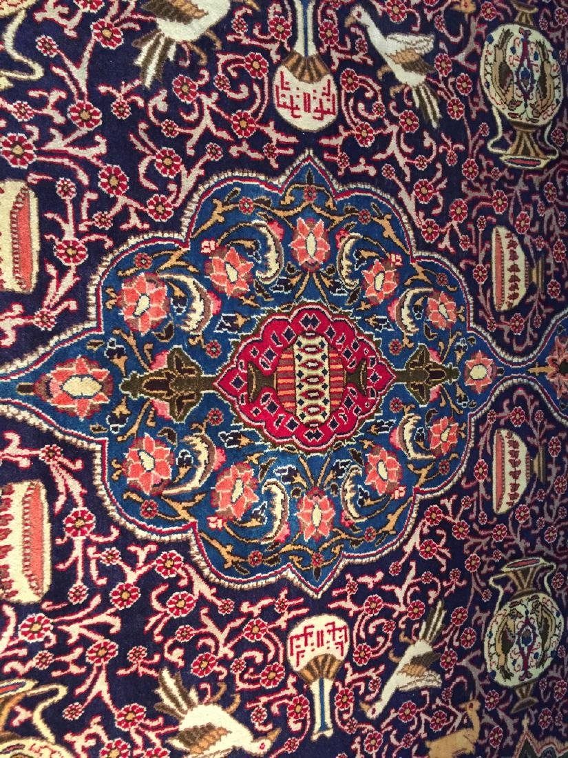 Authentic Persian Kashmar Masterpiece Rug 9.5x12.7 - 9