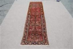Authentic Semi Antique Persian Malayer Rug 3.2x13.8