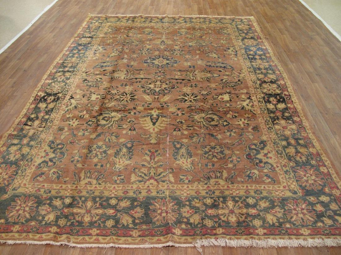 Persian Tabriz Rug 7.2x9.9 - 2