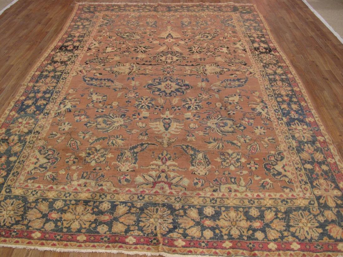 Persian Tabriz Rug 7.2x9.9 - 3
