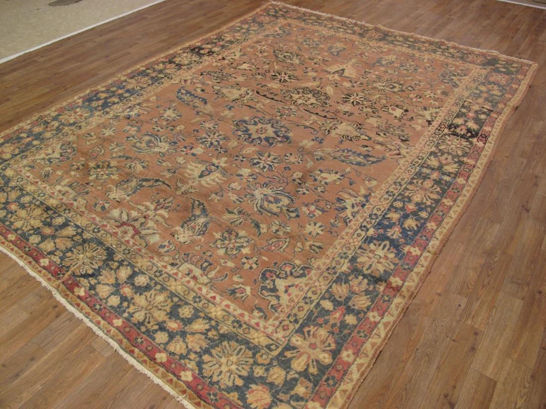 Persian Tabriz Rug 7.2x9.9 - 4