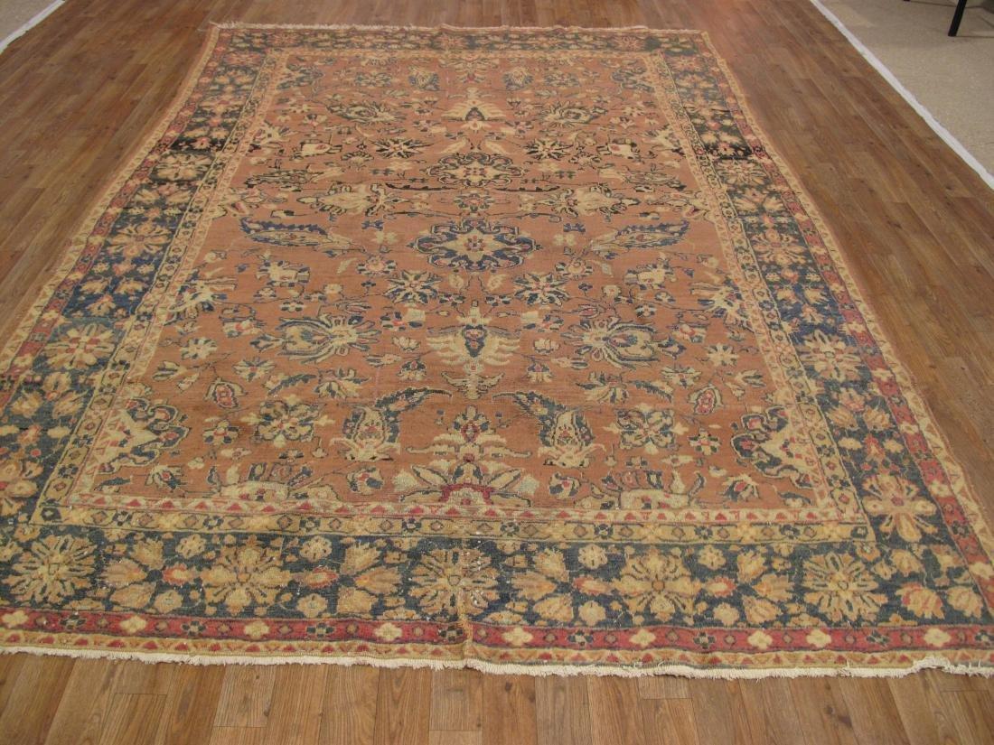 Persian Tabriz Rug 7.2x9.9 - 5